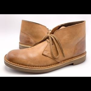 Clarks Bushacre 2 10M Brown Ankle Chukka Boots
